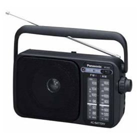 Panasonic RF2400D AM/FM Radio