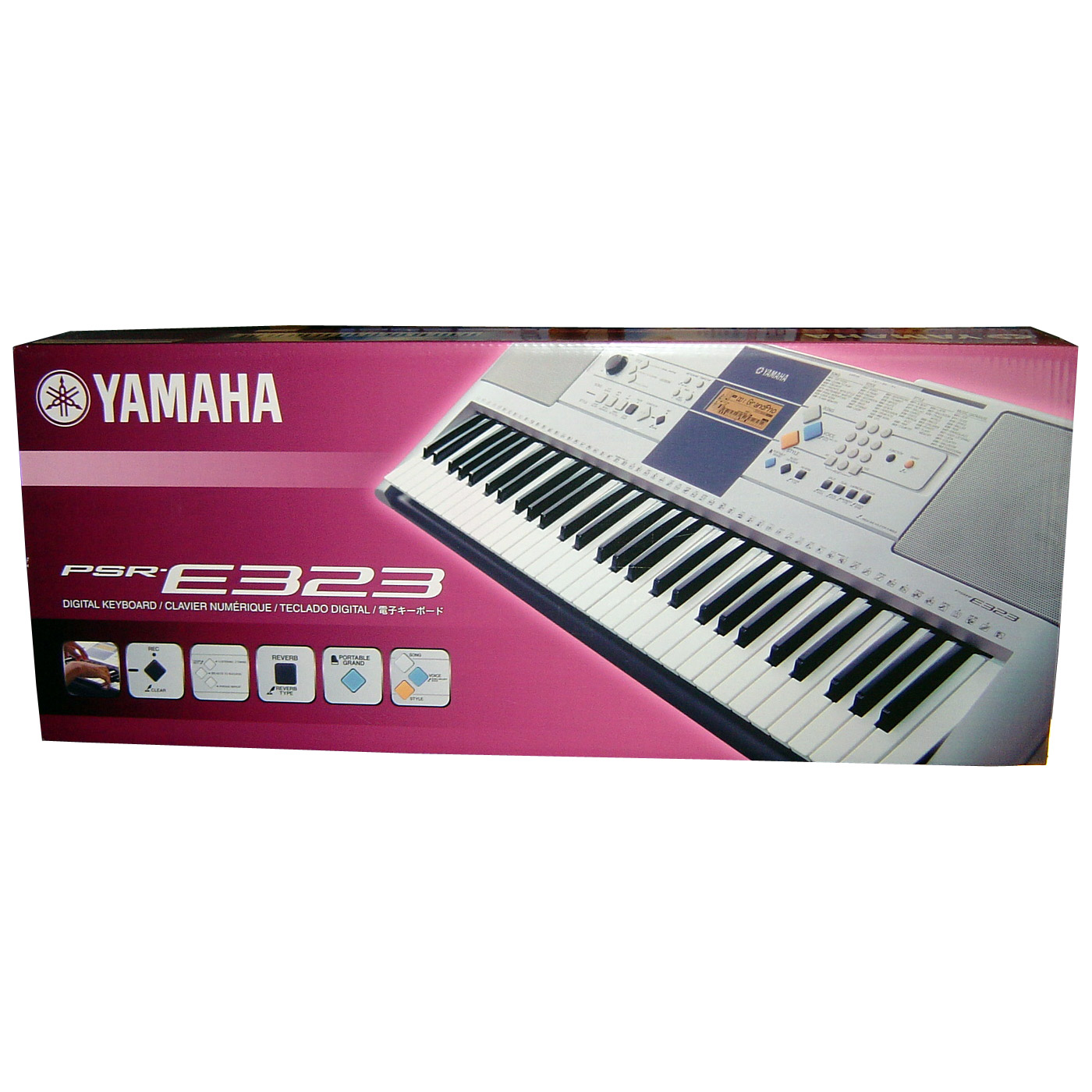 Yamaha PSR-E333-K Keyboard | ELF International Ltd