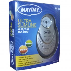 02053 Omega Mayday Mini Radio