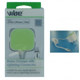 Vibe 30077 Mains Charger with Lightning Connector