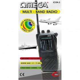04997 Omega Multi Band Radio