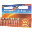 Grundig Alkaline AAA 12xBattery