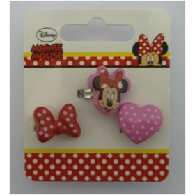 Disney 491493U Minnie Mouse Rings