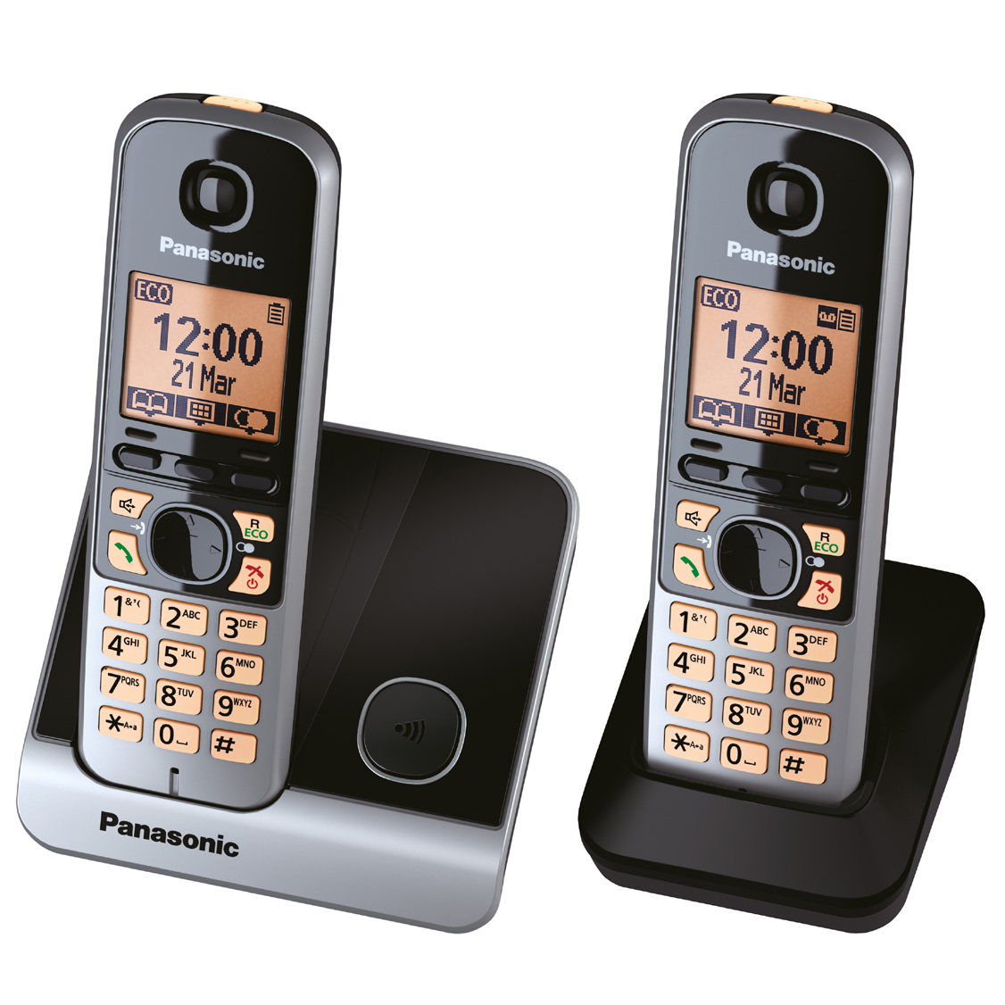 Panasonic KXTG6712 Dect Phone   ELF International Ltd